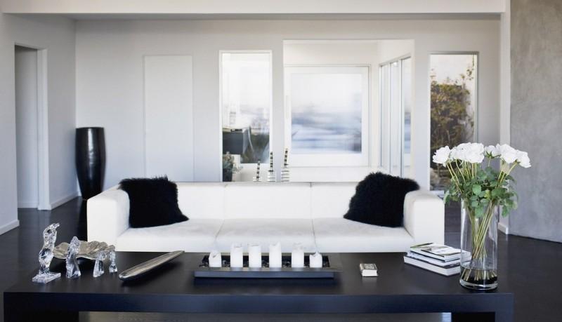lustra i inne elemeny szklane w mieszkaniu